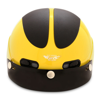 Nón bảo hiểm nửa đầu ACE - AN01 (Vàng đen)