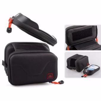 Túi 3 ngăn gắn xe đạp PMD150 (đen-khung cứng)