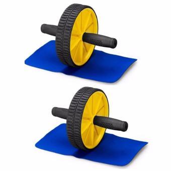 Bộ 2 máy tập cơ bụng AB wheel