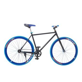 Xe đạp Fixed Gear Single (Đen phối xanh)