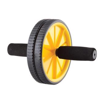 Máy tập cơ bụng bánh xe AB (Vàng)