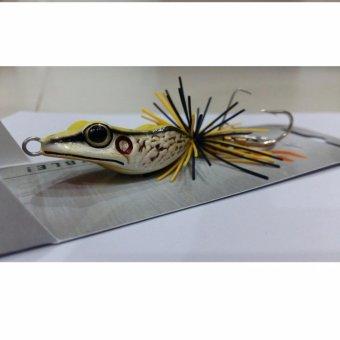 Mồi Giả Nhái Câu Cá Lóc hàng Thái Lan Lotus frog