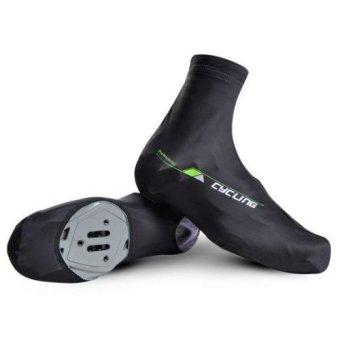 Cycling Shoe Covers(Black XL) - Intl