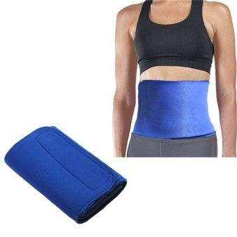 3Pcs Neoprene Slimming Belt Body Sauna Wrap Burn Cellulite Waist Tummy Weight Lose - intl