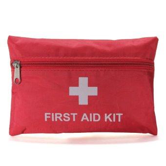 Emergency First Aid Kit Bag Pack Outdoor Travel Hiking Sport Survival Treatmen - intl