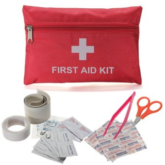 Emergency First Aid Kit Bag Pack Outdoor Travel Hiking Sport Survival Treatmen - intl