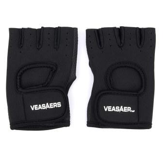 Breathable Shockproof Cycling Bike Bicycle Sports GEL Pad Half Finger Glove M (Intl)