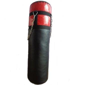 Bao cát đấm boxing GHFITNESS 90cm (Đen đỏ)