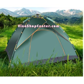 Lều cắm trại dã ngoại Bật tự động tự bung dành cho 4-5 người