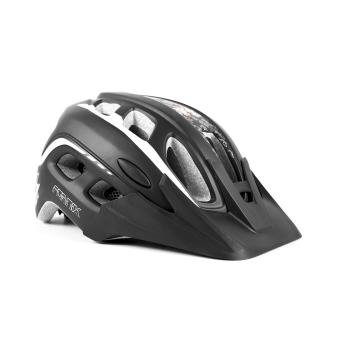 Mũ bảo hiểm đi xe đạp Fornix A02NM38L Size L (Đen trắng)