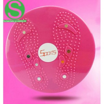 Dụng cụ bánh lắc tập vòng eo và mông Sopifun Shop Sport T95503 (Hồng)
