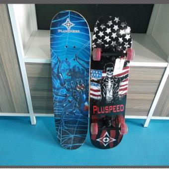 Ván trượt Skateboard cỡ lớn tiêu chuẩn thi đấu (Bánh xe phát sáng)