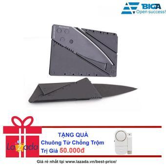 Bộ 2 Dao Du Lịch Bỏ Ví Thẻ ATM USA Store + Tặng Chuông Từ Chống Trộm