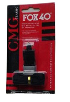 Còi nhựa Fox 40 (Đen)