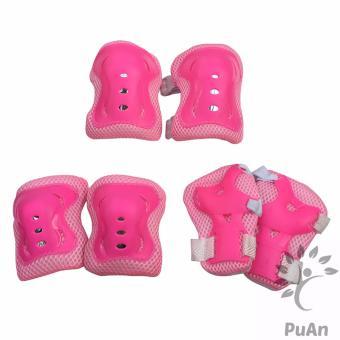 Bộ 6 miếng bảo vệ tay, chân cho bé (Hồng)