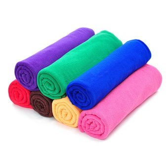 NEW SANTO Travel COOLMAX Microfiber Towel Outdoor Sports Quick Drying Towels - intl