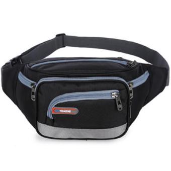 Túi đeo bụng cao cấp chống nước chạy bộ Tidaizhe Loại 1 H125-Đen