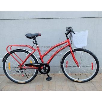 Xe đạp Baccio Serena 26 2016 (Đỏ)