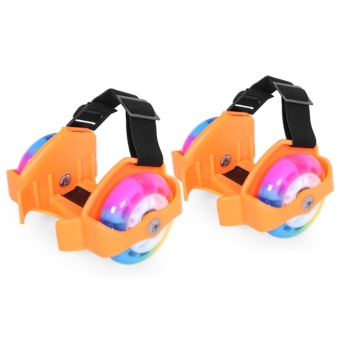 Bánh trượt patin 2 bánh phát sáng- Flashing Roller