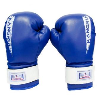 Găng tay đấm boxing kangrui (Xanh)