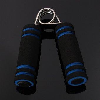 Channy Foam Hand Grippers Soft Cushion Grip Heavy Increase Forearm Strength Grips Blue - intl