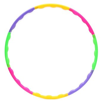 65CM Adjustable Colourful Kid Hula Hoop Child Sports Aerobics Fitness Gymnastic - intl
