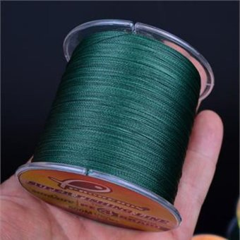 500M PE Fishing Line Strong Braided Lines Strands Wire 8LB-100LB Green (4) - INTL