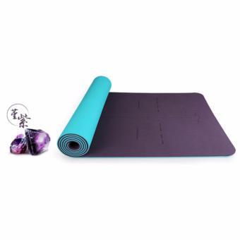 Thảm tập yoga Hatha cao cấp nhập khẩu (Tặng túi, đai, dây buộc)