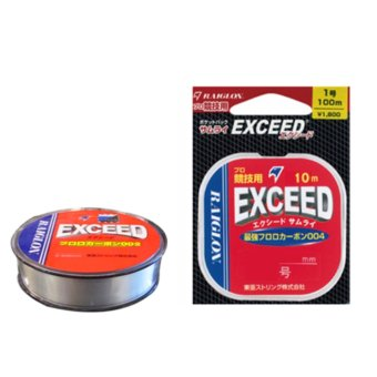 Dây Fluorocarbon Raiglon Exceed size 2.5/0.260mm cuộn 10m