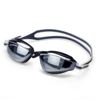 Kính bơi Aryca cao cấp tráng gương + Tặng kèm nút tai (Đen)