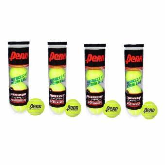 Bộ 4 hộp 4 banh tennis Penn HPC004 (Xanh)
