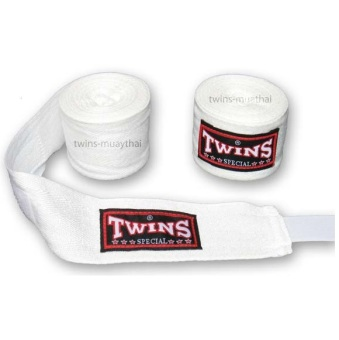 Băng đa quấn tay Twins Kick Boxing Muay MMA (Trắng).
