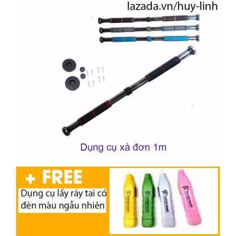 Xà đơn treo tường 1m + Free dụng cụ lấy ráy tai có đèn màu sắc ngẫu nhiên