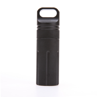 EDC Survival Waterproof Pill Case Box Container Hiking Emergency Gear - intl