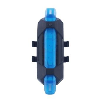 Đèn led pin sạc usb gắn xe đạp RPD075 (xanh dương)