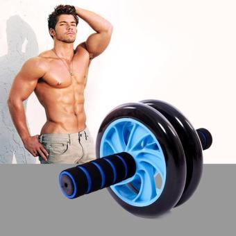 Dụng cụ tập cơ bụng AB Wheel (Xanh Lam)