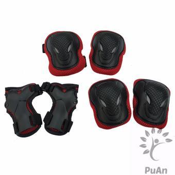 Bộ 6 miếng bảo vệ tay và chân cho bé (Đỏ)