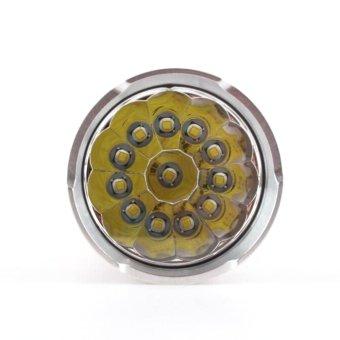 30000LM 12x CREE XM-L T6 Flashlight Torch 4x 18650 Hunting Light Lamp - intl
