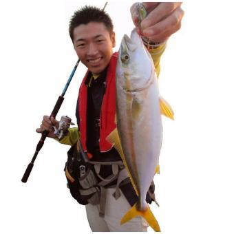 Bộ cần câu cá 2 khúc ruột đặc KT B-White 2m1 + Tặng mồi giả