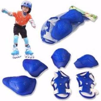 Bộ bảo vệ đầu gối, tay, chân an toàn cho bé chơi thể thao