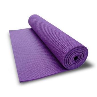 Thảm tập Gym & Yoga cao cấp dày dài 1.75m x 61cm x 5mm có túi đựng kèm (Tím)