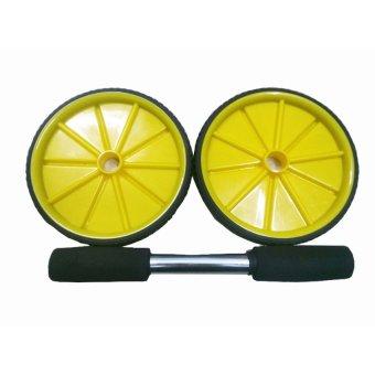 Máy tập lưng bụng Nguyễn Đăng AB wheel (Vàng phối đen)