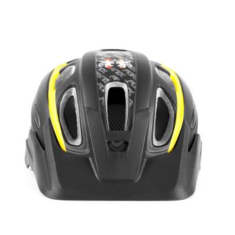 Mũ bảo hiểm đi xe đạp Fornix A02NM38L Size L (Đen Vàng)