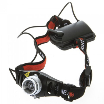 Ultra Bright 1500 Lumen XPE LED Headlamp Zoomable Headlight Head Lamp - intl