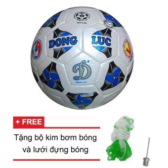 Quả bóng đá Động Lực Cơ bắp UCV 3.05 số 4 + Tặng bộ kim bơm bóng và lưới đựng bóng