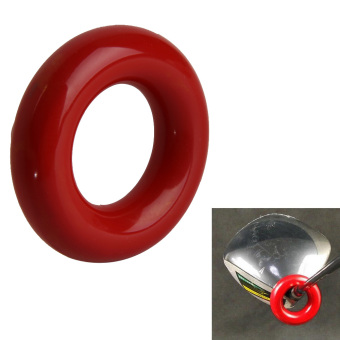 Red Round Weight Power Swing Ring for Golf Clubs Warm up Training Aid - intl