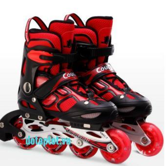 giày trượt patin Cougar 835LSG đỏ