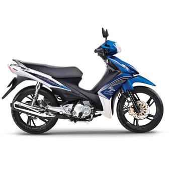 Xe tay côn Suzuki Axelo 125cc 2015 - Trắng xanh