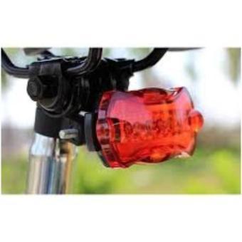 Đèn Chiếu Hậu Xe Đạp 5 LED HY-198 (Đen)