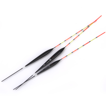 3pcs Balsa Wood Sensitive Fish Fishing Floats for Carp Perch Coarse Fishing - Intl